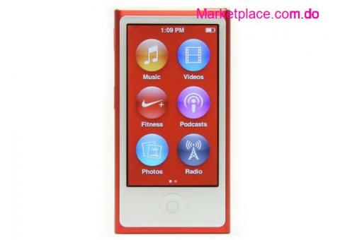 Apple ipod Nano 7th generation RED
