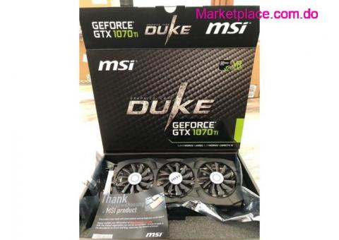 MSI GeForce GTX 1070Ti DUKE 8GB