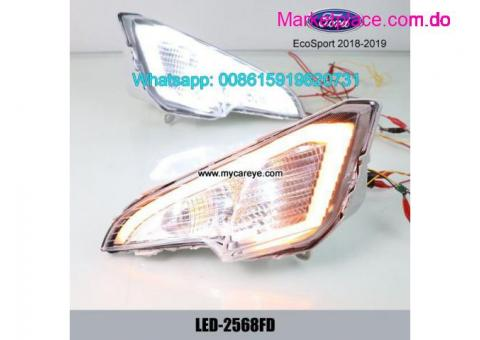 Ford EcoSport LED DRL daytime running lights