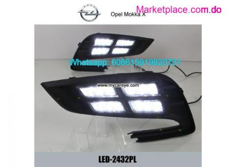 Opel Mokka X DRL LED Daytime Running Lights