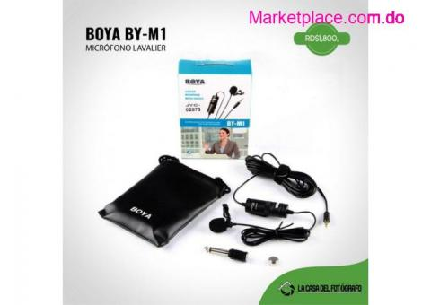 MICROPHONE BOYA BY-M1