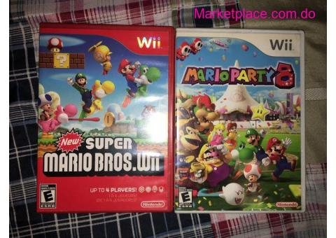 Super Mario Bros y Mario Party 8