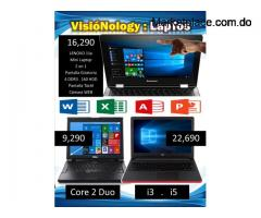 Laptos DELL . LENOVO . HP . $ 9,290 : DDR2 160HDD