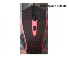 MOUSE USB GAMING 7 COLORES XTRIKE ME