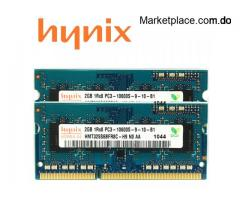 Memoria RAM hynix DDR3 2GB 1333MHz Laptop