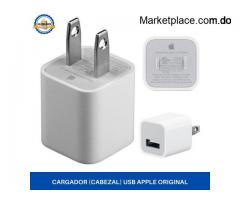Cargador (Cabezal) USB Apple Original