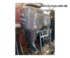 Used Yamaha 250 4 stroke outboard motor for sale