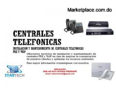 CENTRALES TELEFONICAS PBX Y VoIP