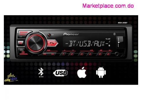 Pioneer Mvh-291BT Bluetooth Usb Aux Ipod