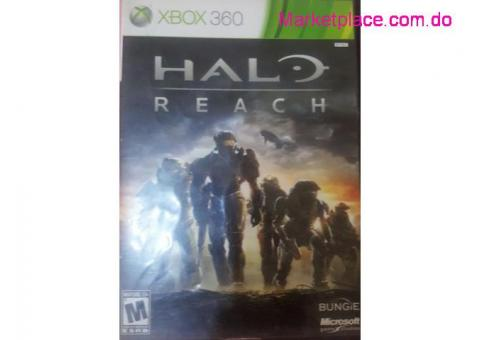 Halo Reach CD Original.